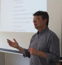 Ein ebenso kompetenter wie bekannter Dozent zu Gast beim ENT: Dr. Andreas Mueller-Cyran